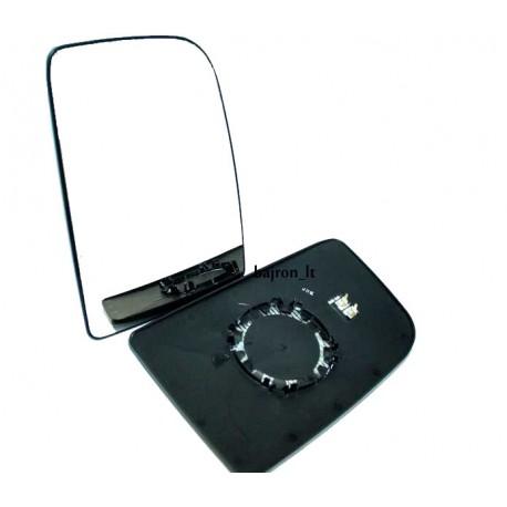 Wkład lusterka do Craftera/SPR po 2006 ogrzewany- okrągłe mocowanie.